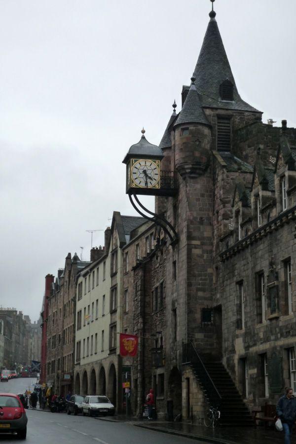 Canongate Tolbooth, Royal Mile de Edimburgo