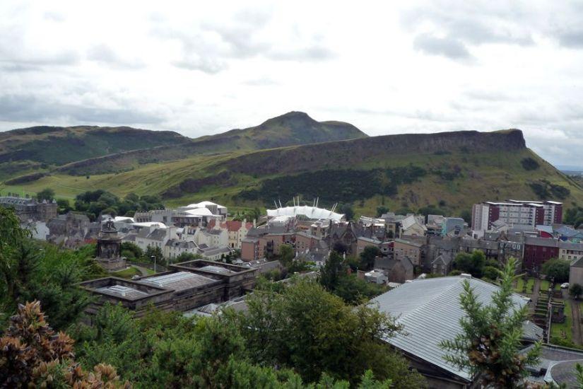 Arthur's Seat visto desde Calton Hill