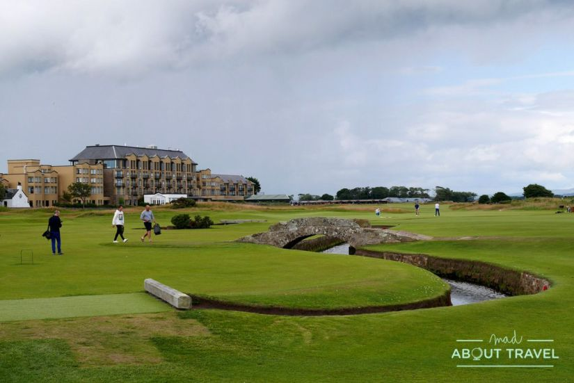 que ver en saint andrews: gold Old Course