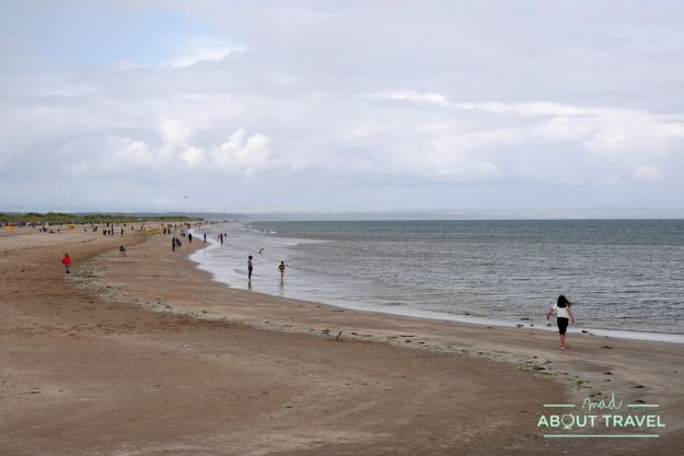 que ver en Saint Andrews: playa de West Sands