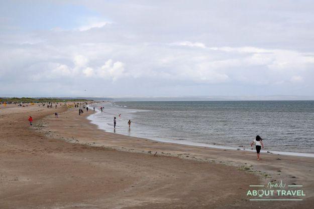 que ver en Saint Andrews: playa de West Sands
