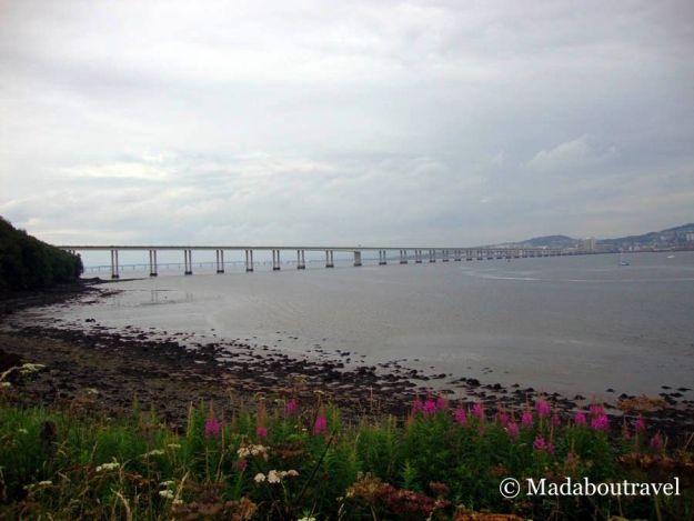 Puente sobre el río Tay en Dundee