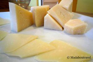 Degustación de queso de oveja Val de Cinca