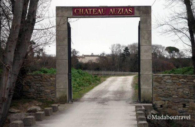 Entrada al Château Auzias, Carcassonne