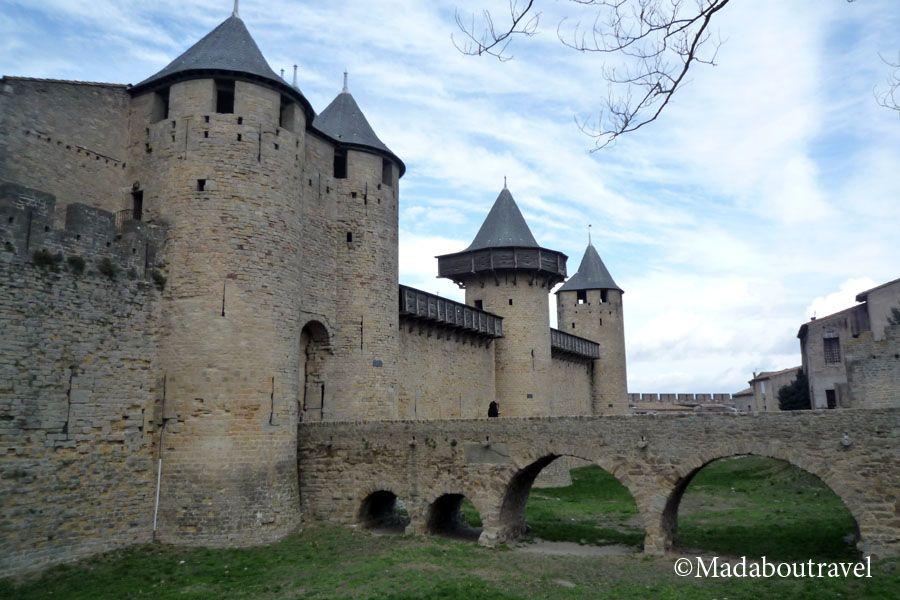Entrada al Chateau Comtal de Carcassonne