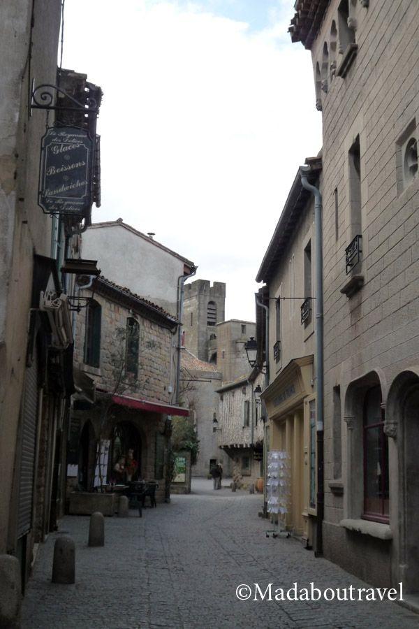 Calle de La cité de Carcassonne