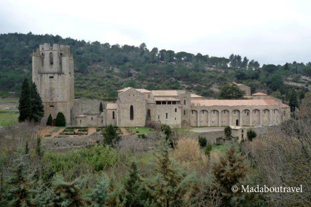 Abadía de Sainte Marie de Lagrasse
