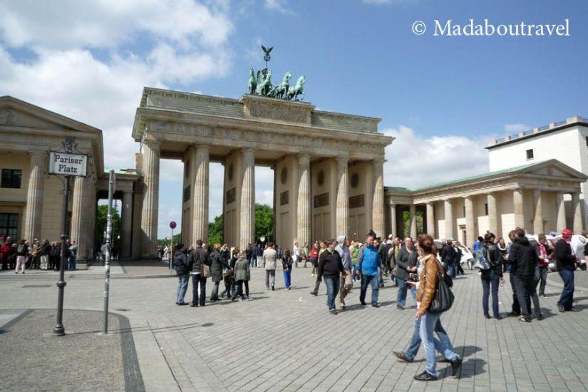 Puerta de Brandenburgo, Berlín