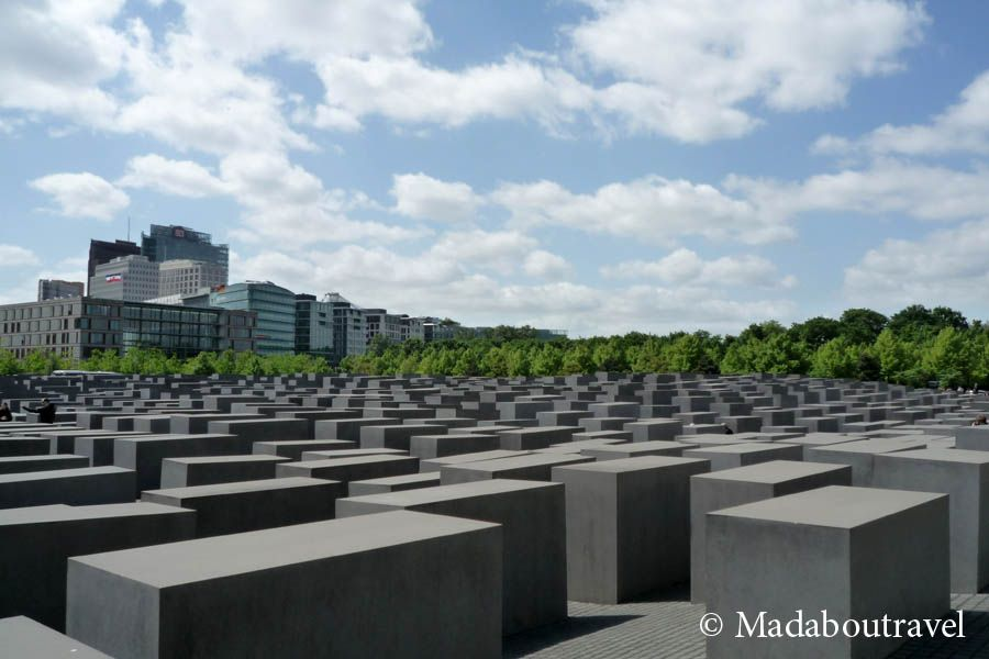 Monumento al holocausto berl n mad about travel blog for Monumento all olocausto