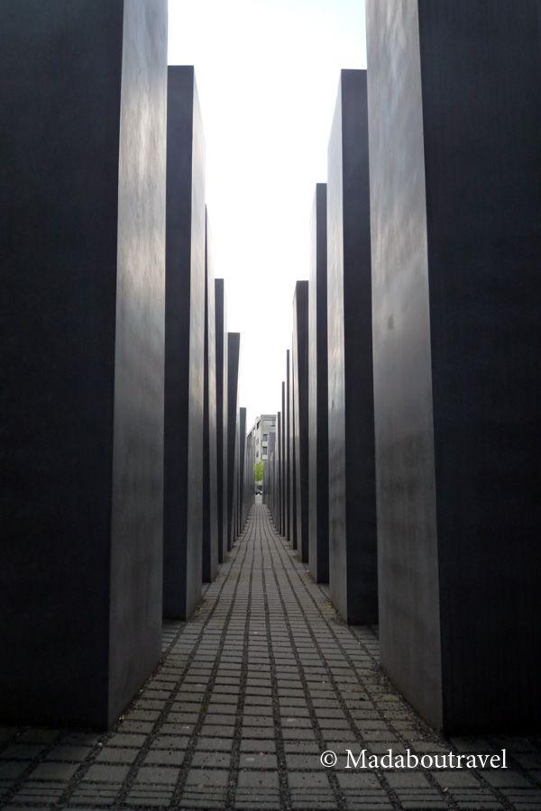 Monumento al Holocausto, Berlín