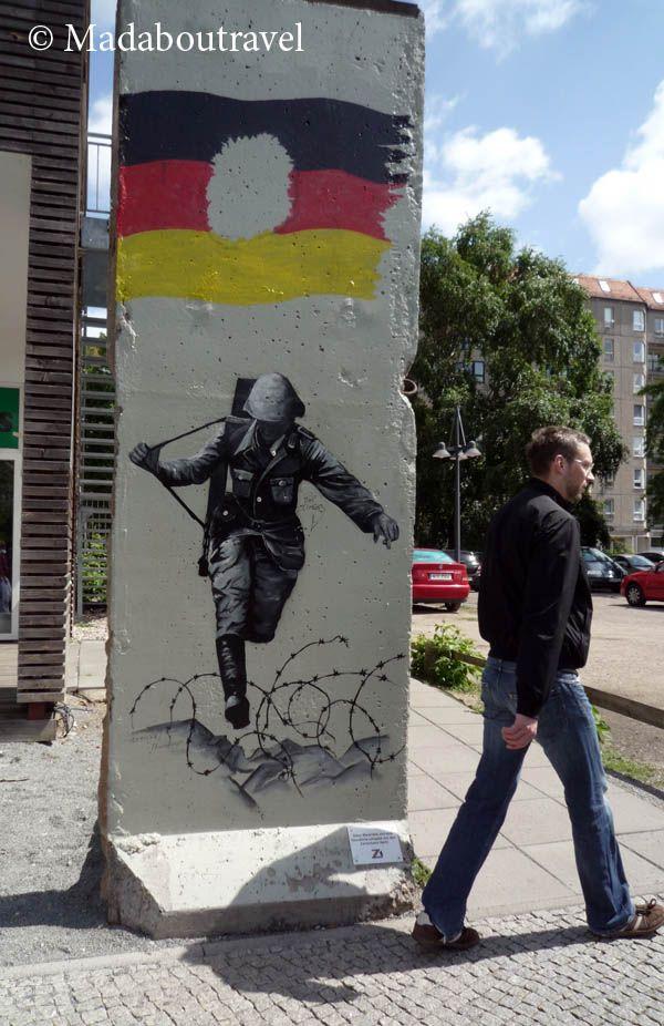 Un fragmento del Muro de Berlín