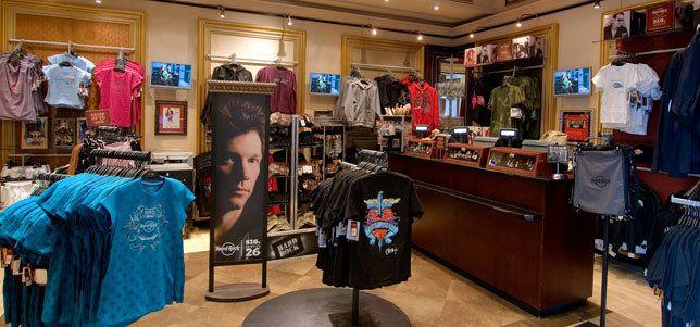 Rock Shop en Hard Rock Café de Barcelona
