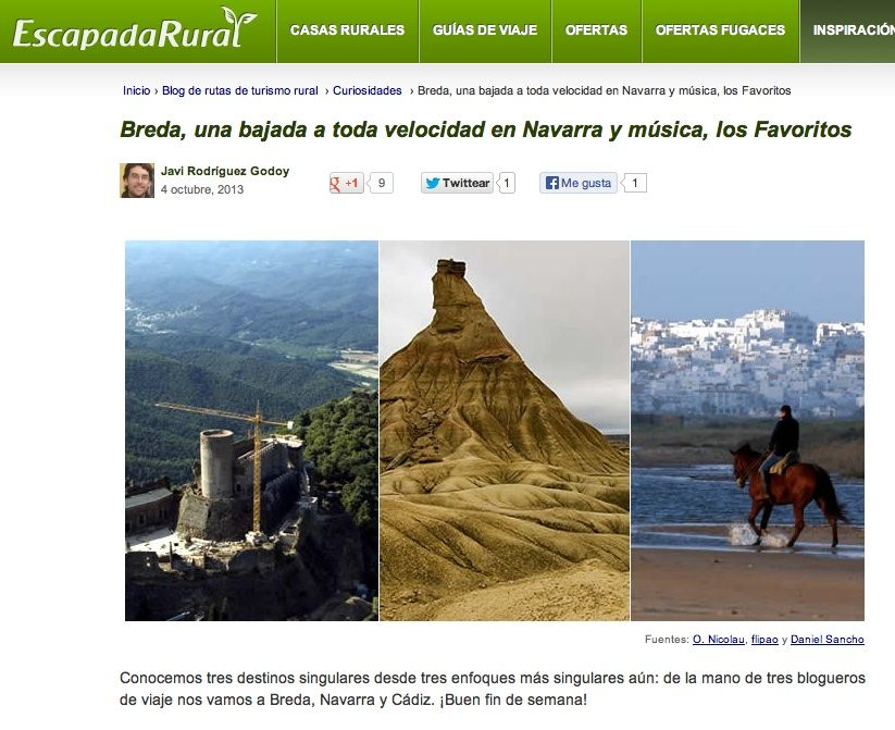 Blog Escapada Rural
