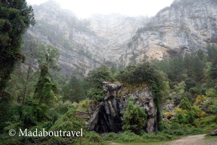 De camino al nacimiento del río Mundo, Riopar (Albacete)