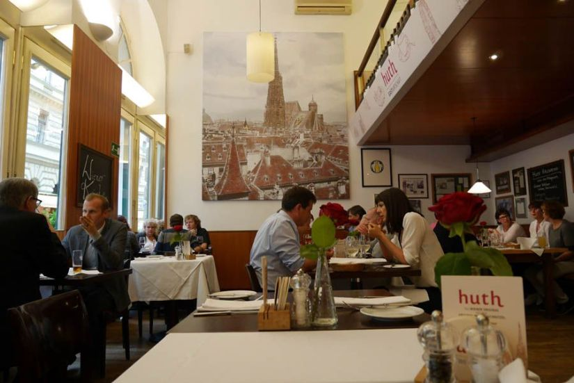 Restaurante de Viena - Huth