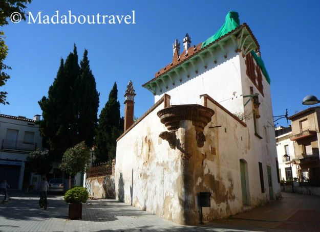 Casa de veraneo de Josep Puig i Cadafalch en Argentona