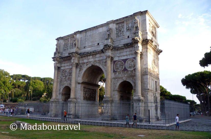 Arco de Tito, Roma