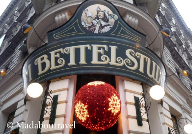 Restaurante Zum Bettelstudent, Viena