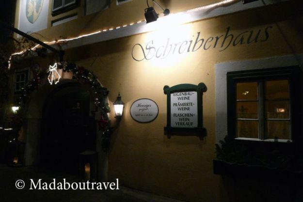 Heuriger Das Schreiberhaus en Neustift, Viena