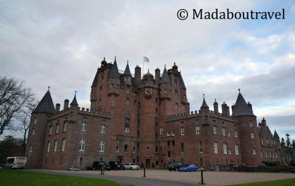 castillo de glamis escocia