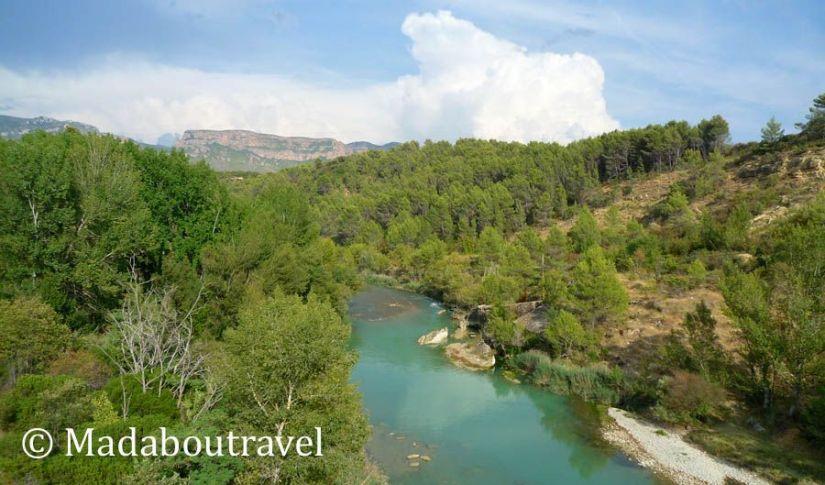 Río Gállego, Huesca