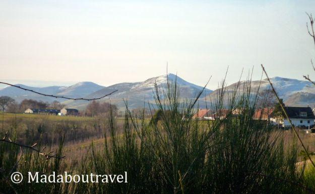 Las Pentlands vistas desde Roslin