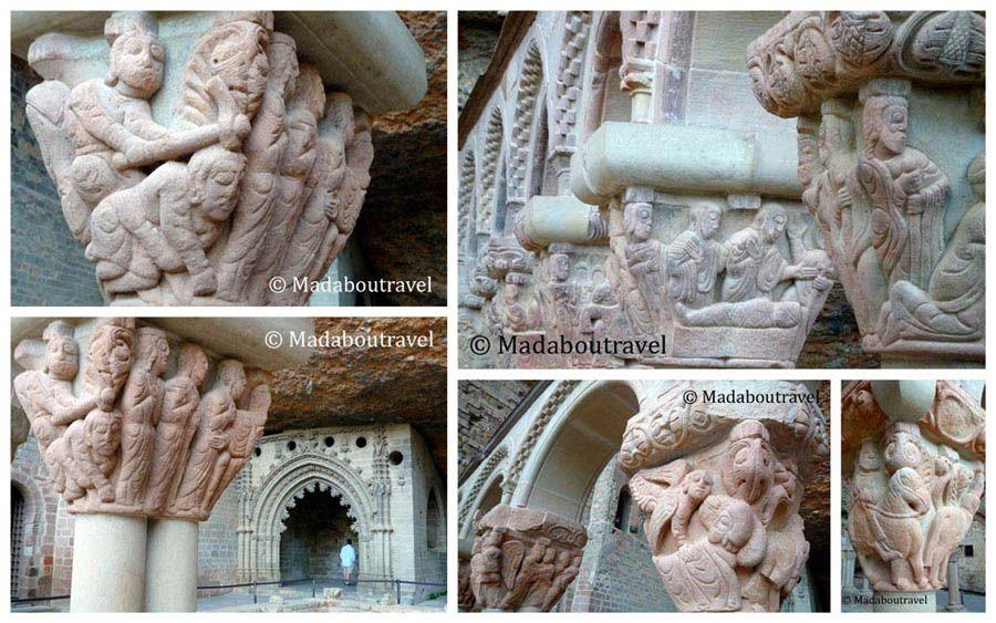 capiteles románicos San Juan de la Peña