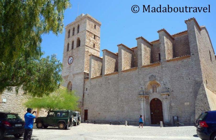Catedral de Santa María en Dalt Vila, Ibiza