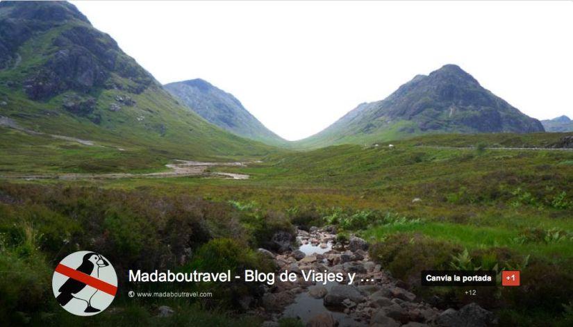 Página de Madaboutravel en Google+