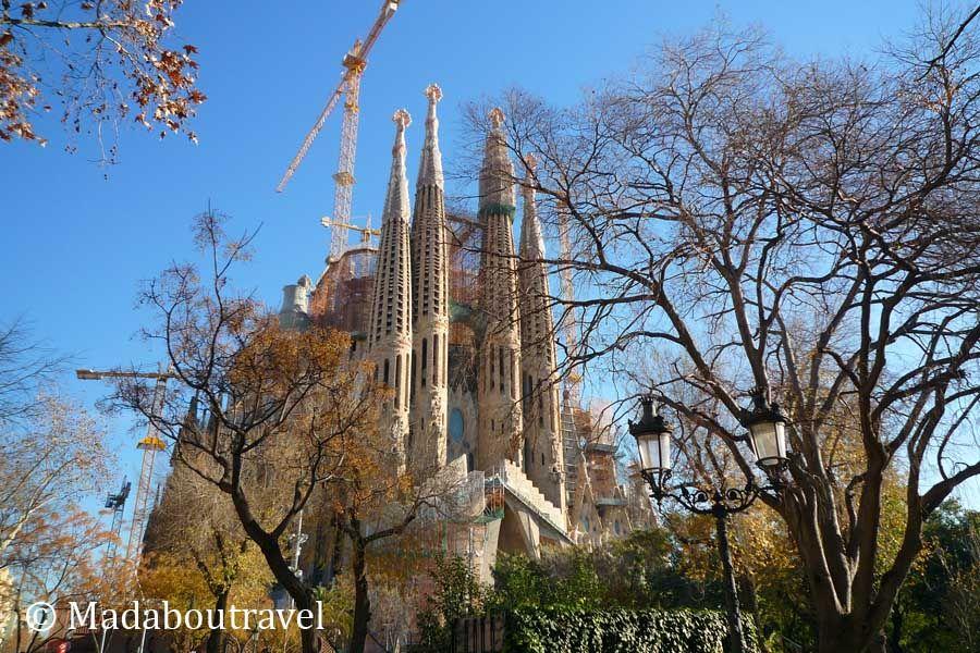 Visita a la Sagrada Familia de Barcelona (1/6)