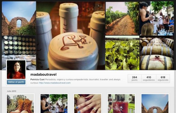 Madaboutravel en Instagram
