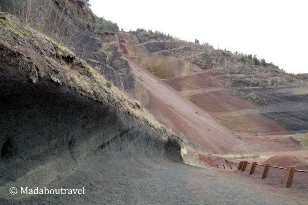 Grederas del volcán Croscat