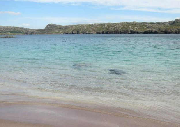 Handa beach
