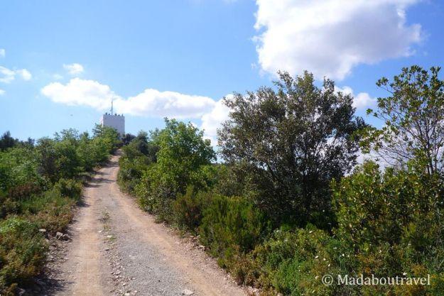 De camino a la torre del Telégrafo de Montornès