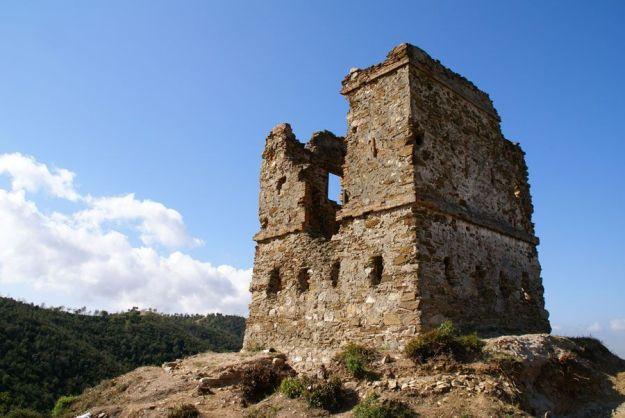 Torre de telegrafía óptica de Montornès del Vallés en 2006
