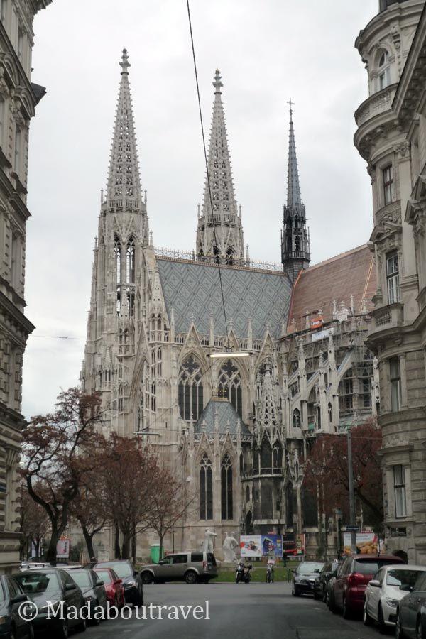 Votivkirche (Iglesia Votiva) en Viena