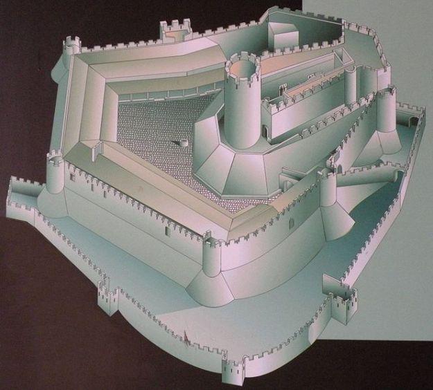 Reproducción del Castillo de Montsoriu