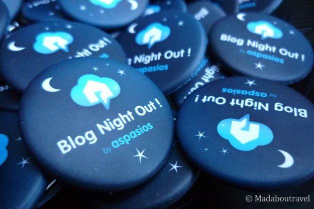 Chapas de Camaloon para la Blog Night Out de Aspasios