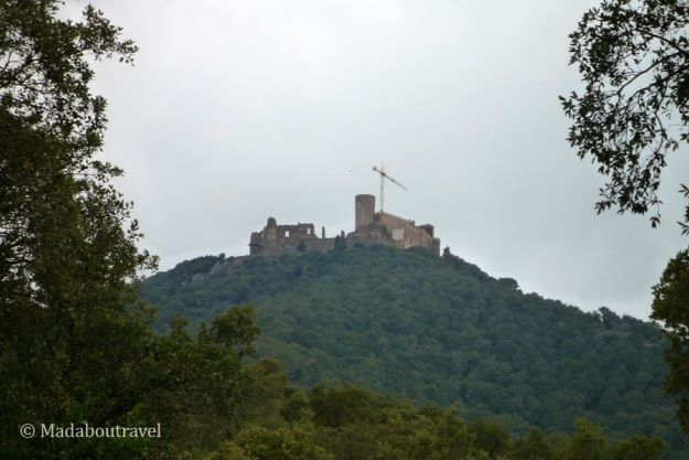 Castell de Montsoriu en el Montseny