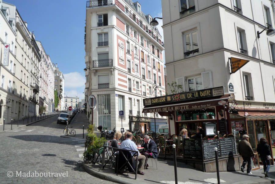 Rincón bonito de Montmartre