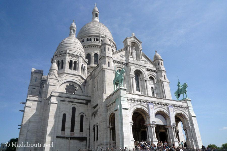 Iglesia del Sacré Coeur, Montmartre, París