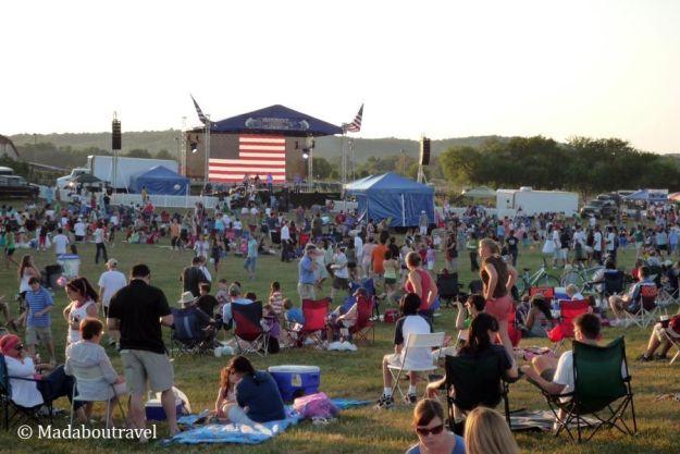 Celebración del 4 de Julio en Leesburg