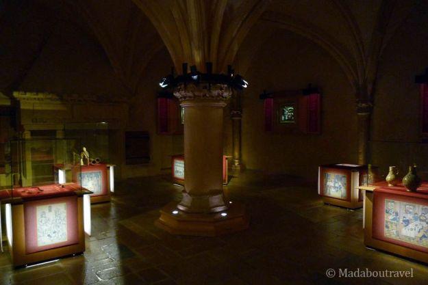 Interior del castillo de Malbrouck