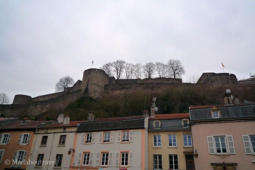 Castillo de los duques de Lorena en Sierck-les-Bains