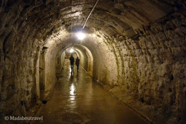 Interior del fuerte de Douaumont