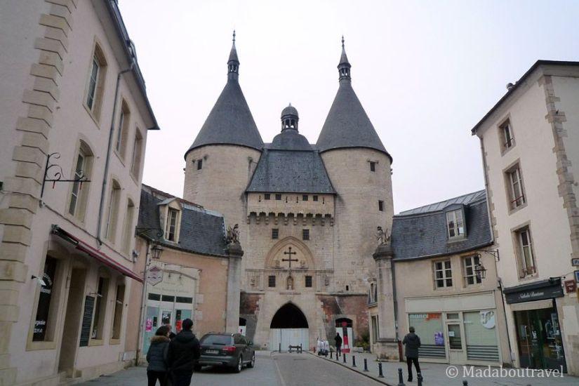 Puerta de la Craffe en Nancy
