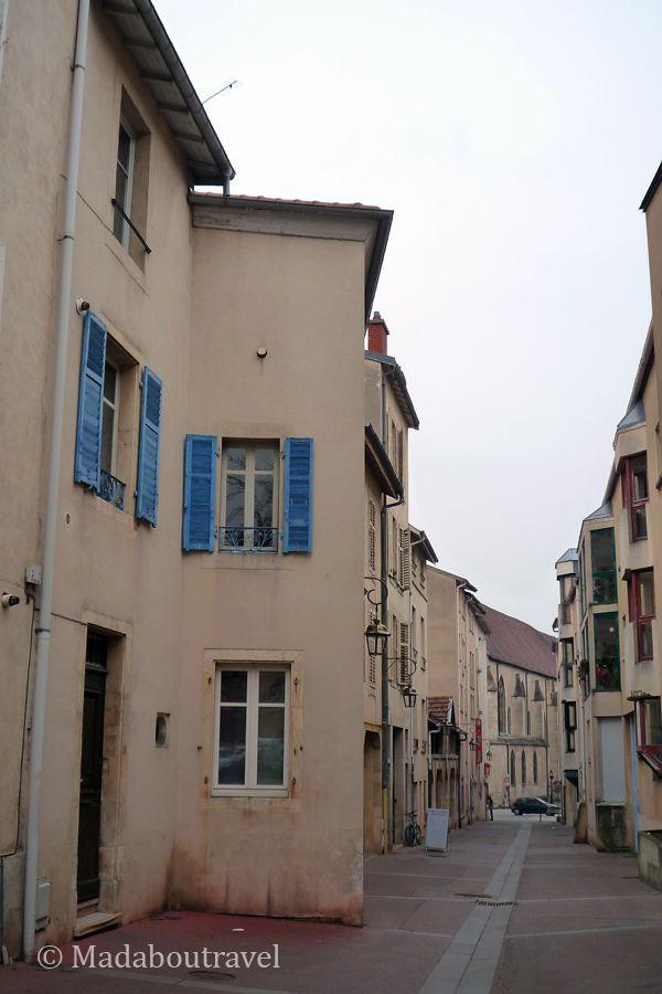 Calles de la Ciudad Medieval de Nancy