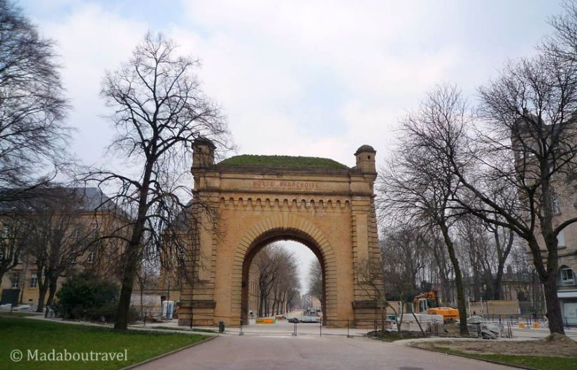 Porte Serpenoise de Metz