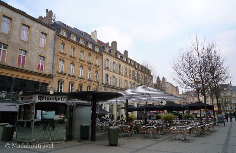 Plaza de Saint Jacques en Metz