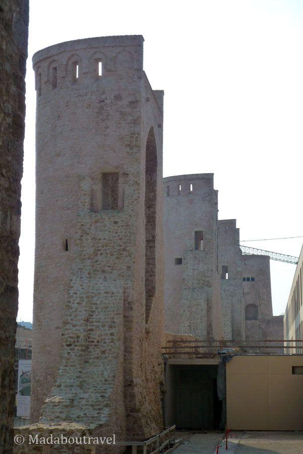 Torres del muro de Wenceslao en Luxemburgo